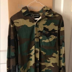 Other - The hundred camouflage button down